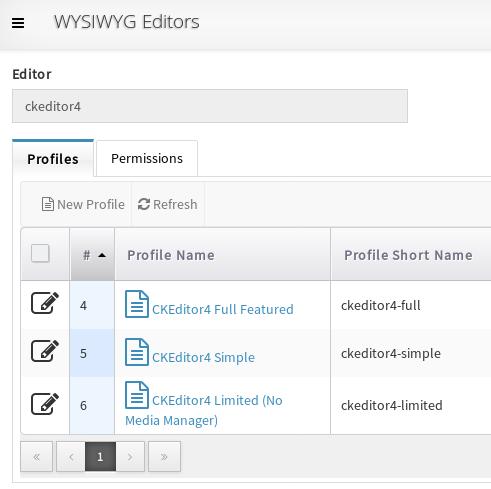 SCHLIX - Upcoming 2 1 1 release: multiple WYSIWYG editor profiles